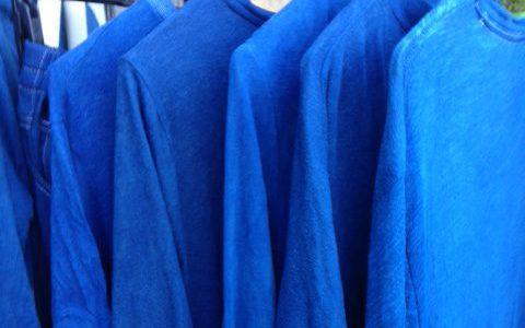 藍染しました