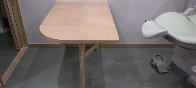 折畳みテーブル設置しました